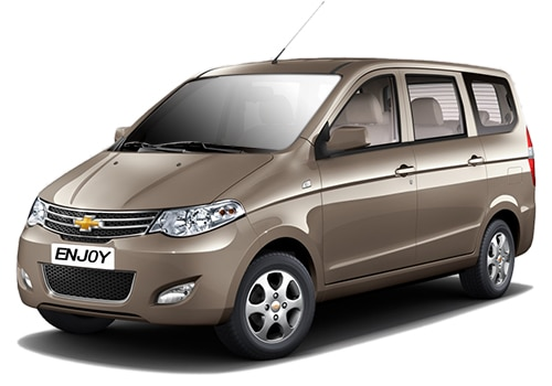 Chevrolet Enjoy Beige Color Pictures