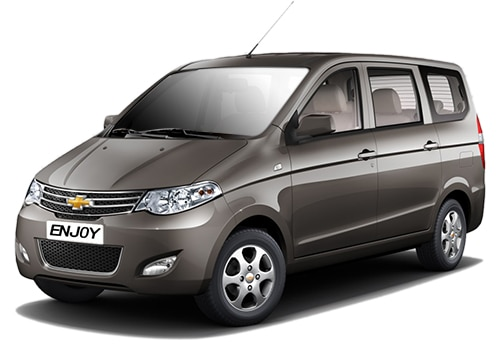 Chevrolet Enjoy Grey Color Pictures