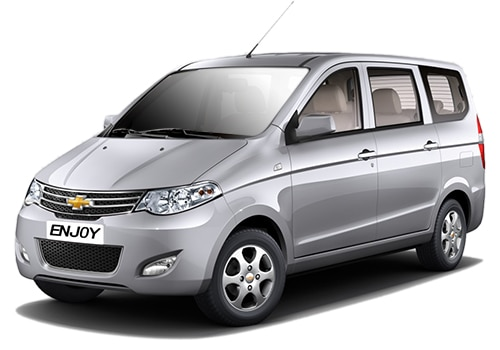 Chevrolet Enjoy Silver Color Pictures