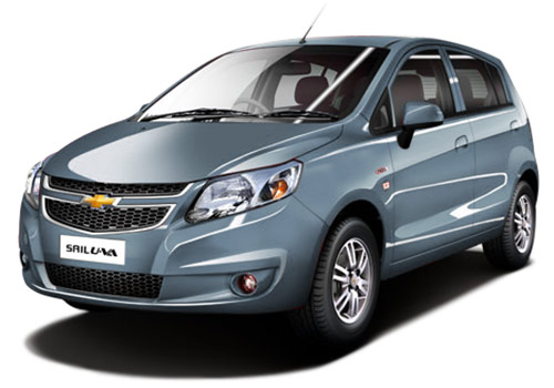 Chevrolet Sail Hatchback 2012-2013 Misty Lake Color