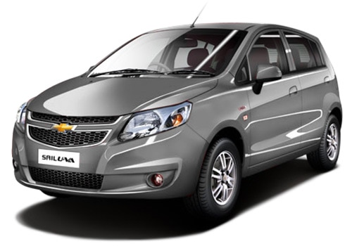 Chevrolet Sail UVA Grey Color Pictures