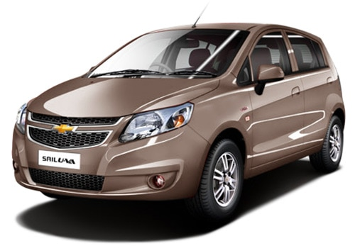 Chevrolet Sail UVA Beige Color Pictures