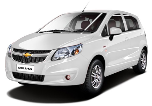 Chevrolet Sail UVA White Color Pictures