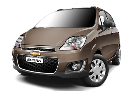 Chevrolet Spark Beige Color Pictures