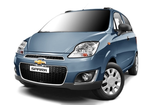 Chevrolet Spark Blue Color Pictures