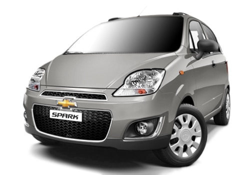 Chevrolet Spark Silver Color Pictures
