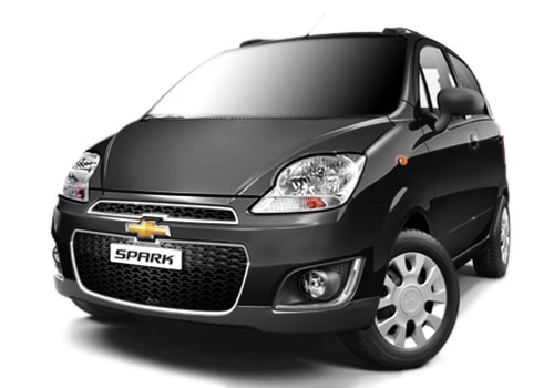 Chevrolet Spark Caviar Black Color Picture