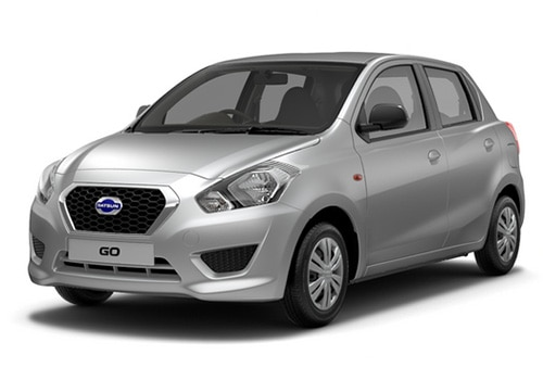 Datsun Go Silver Color Pictures Cardekho India
