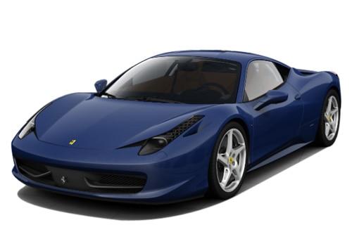 ferrari 458 italia metallic dark blue