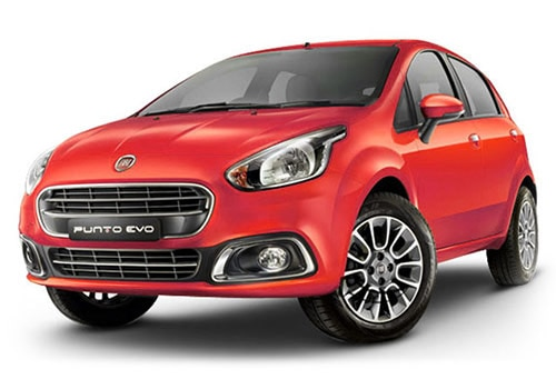 Fiat Punto EVO Exotica Red Color