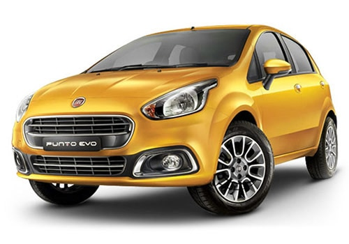 Fiat Punto EVO Gold Color Pictures