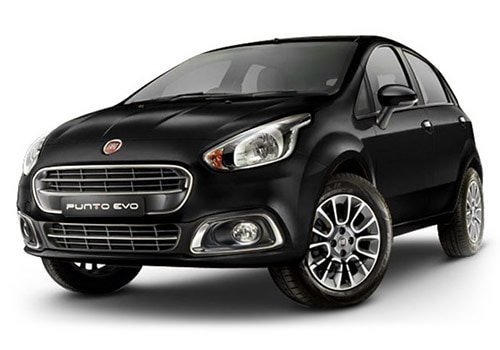 Fiat Punto EVO Hip Hop Black Color