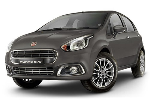 Fiat Punto EVO magnesio Grey Color