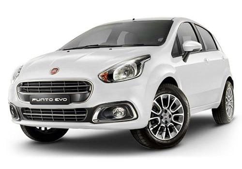 Fiat Punto EVO Pearl White Color