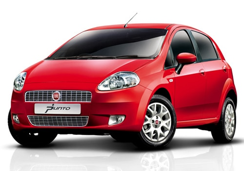 Fiat Punto Red Color Pictures
