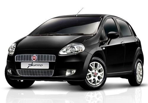 Fiat Punto Black Color Pictures