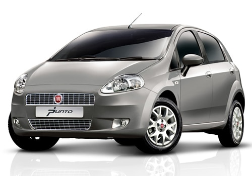 Fiat Punto Grey Color Pictures