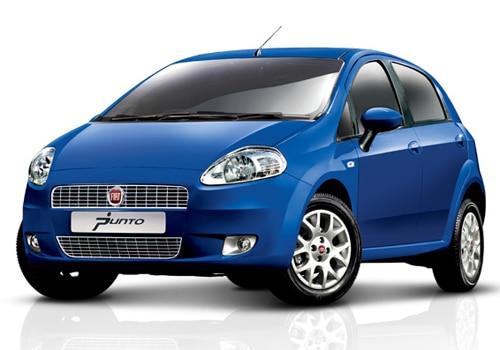 Fiat Punto Blue Color Pictures