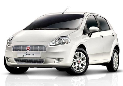 Fiat Punto White Color Pictures