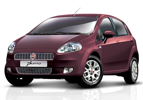 Fiat Punto Wine Color Pictures