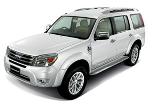 Ford Endeavour White Color Pictures