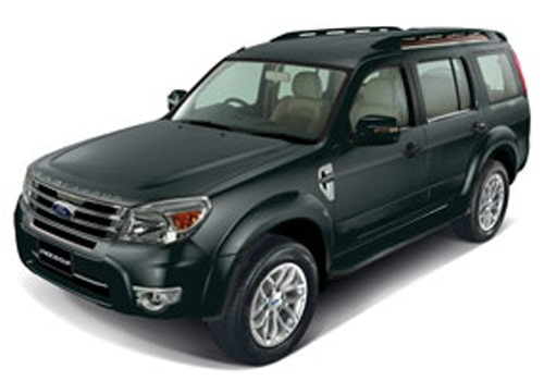 Ford Endeavour Grey Color Pictures