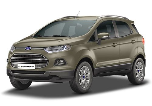 Ford Ecosport Chill Metallic Color
