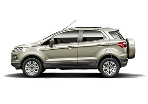 Ford Ecosport Chill Metallic Color Pictures
