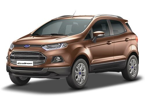 Ford Ecosport Golden Bronze Color
