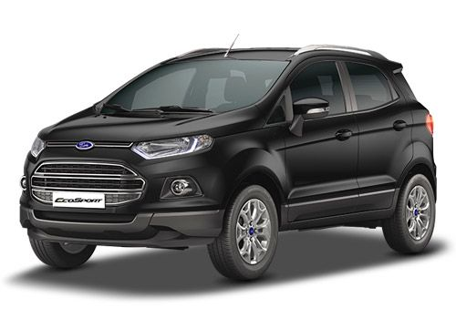 Ford Ecosport Panther Black Color