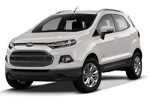 Ford Ecosport Diamond White Color