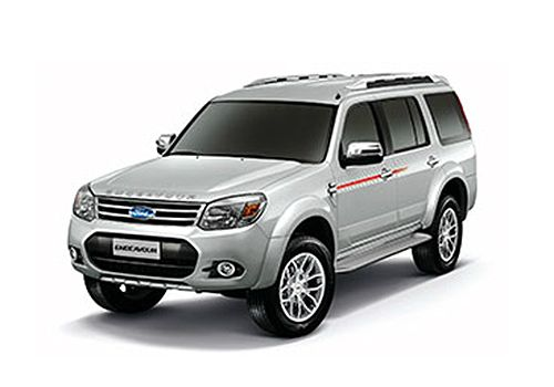 Ford Endeavour Silver Color Pictures