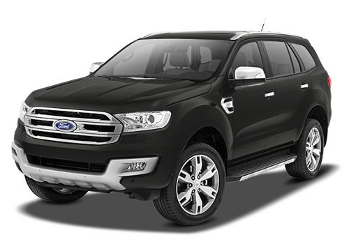 Ford Endeavour Black Color Pictures