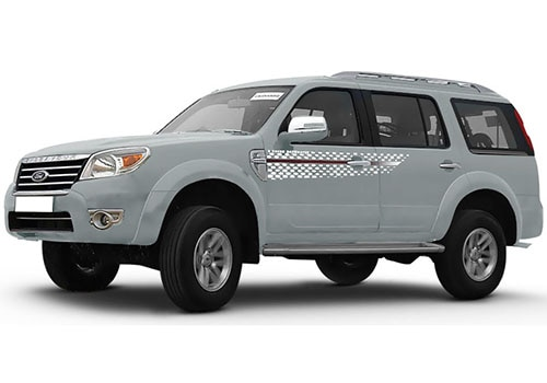 Ford Endeavour Moondust Silver Color