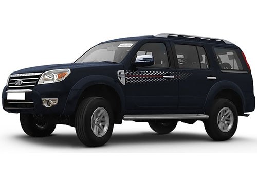 Ford Endeavour Panther Black Color
