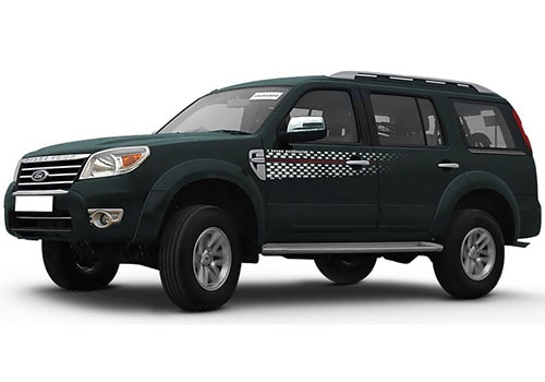 Ford Endeavour Sea Grey Color