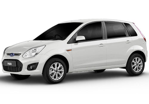 Ford Figo Diamond White Color