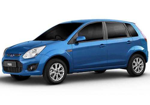 Ford Figo Kinetic Blue Color