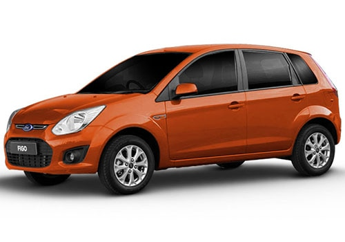 Ford Figo Mars Red Color