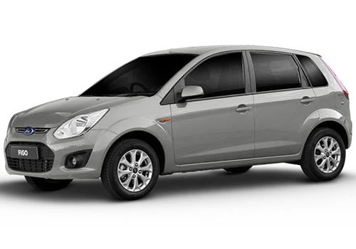Ford Figo Moondust Silver Color