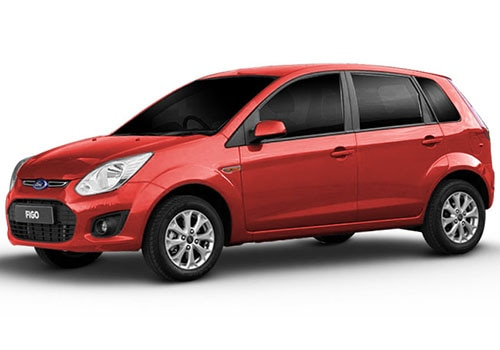 Ford Figo Paprika Red Color