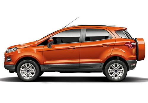 Ford Ecosport Red Color Pictures
