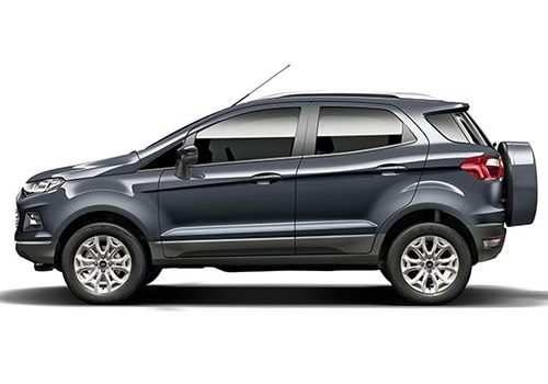 Ford Ecosport Grey Color Pictures