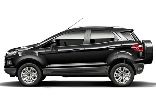 Ford Ecosport Panther Black Color Picture