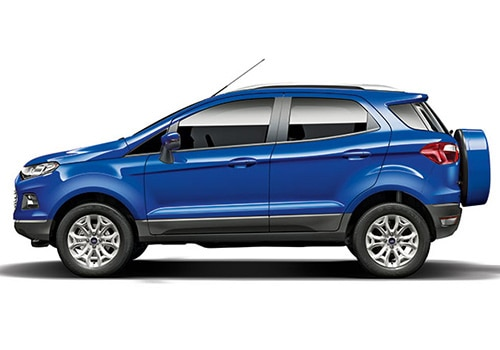 Ford Ecosport Blue Color Pictures