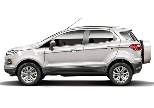 Ford Ecosport White Color Pictures