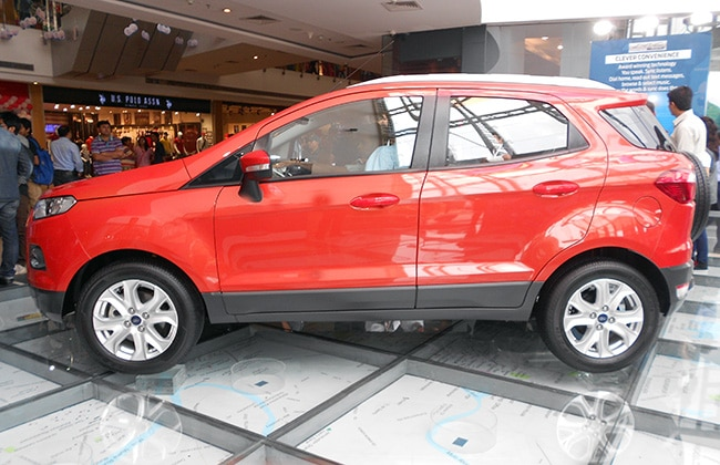 Ford To Export Made In India Ford EcoSport To 40 Countries