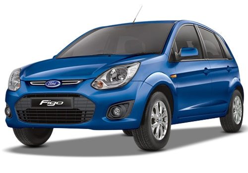 Ford Figo Blue Color Pictures