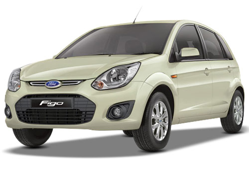 Ford Figo Chill Metallic Color Pictures