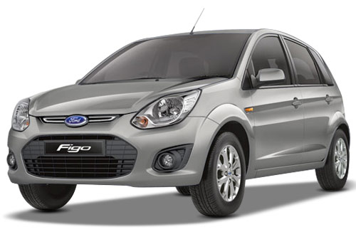 Ford Figo Silver Color Pictures